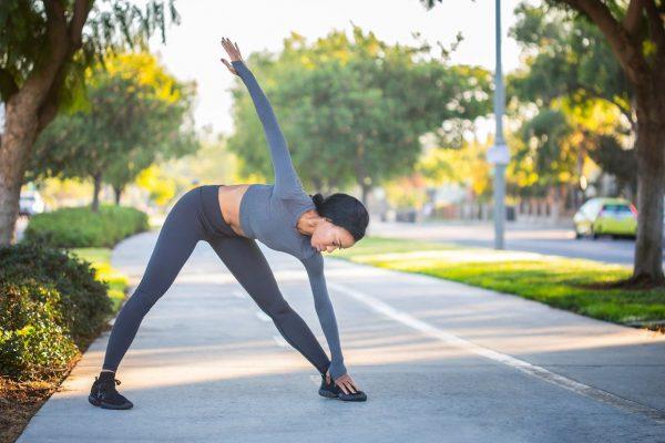 sport, stretch, fitness